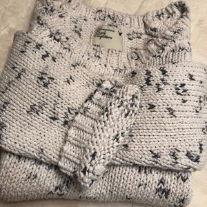 AMERICAN EAGLE cropped knit sweater